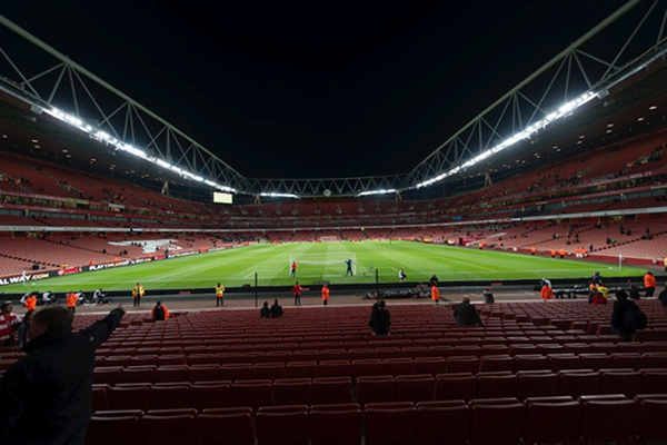 Emirates Stadium, Home of ArsenalFC, London, UK