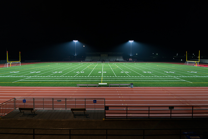 Art Crate High School Stadium, Spanaway, Washington, USA