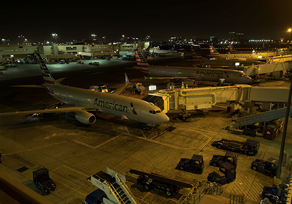 Los Angeles International Airport Terminal 4, Los Angeles, California, USA