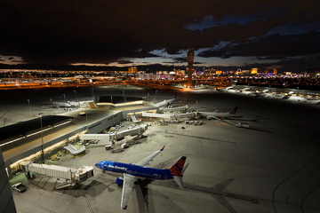 McCarran International Airport, Las Vegas, Nevada, USA