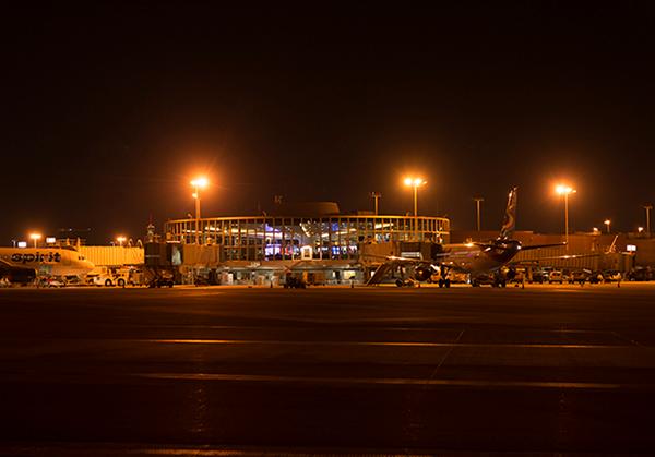 McCarran International Airport, Las Vegas, Nevada, USA