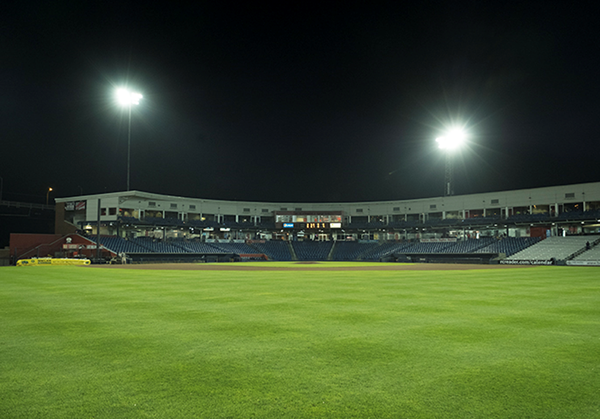 Modern Woodmen Park, Home of the Quad Cities River Bandits Davenport, Iowa, USA