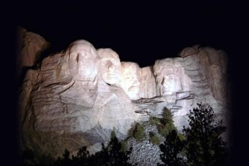Mount Rushmore National Memorial, Keystone, South Dakota, USA