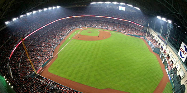 Minute Maid Park, Home of Houston Astros, Houston, Texas, USA