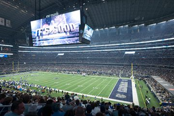 AT&T Stadium-Home of the Dallas Cowboys (Arlington,Texas,USA)