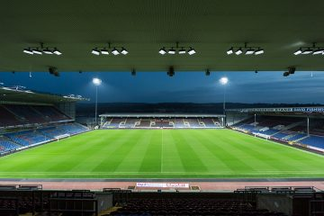 Turf Moor Stadium, Burnley, U.K.