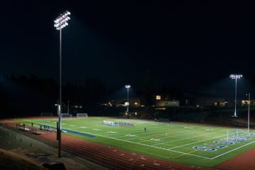 Liberty High School Football Stadium, Renton, Washington, USA