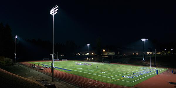 Liberty High School Football Stadium, Renton, Washington, USA