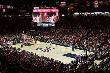 University of Arizona Mckale Center, Tucson, Arizona, USA