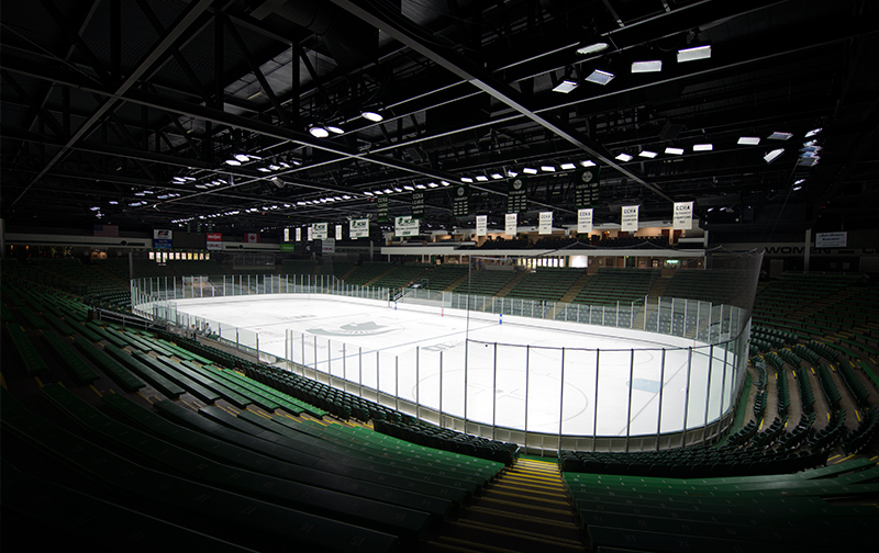 Michigan State University, Munn Ice Arena, East Lansing, MI, USA