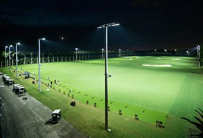 導入事例・ゴルフ場、練習場