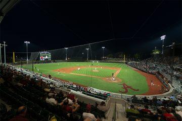 Sewell-Thomas Stadium, Home of the Crimson Tide Baseball, Tuscaloosa, Alabama, USA
