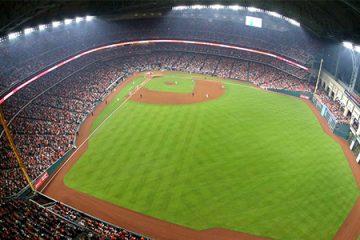 Minute Maid Park, Home of Houston Astros, Houston, Texas, USA