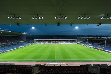 Turf Moor Stadium, Burnley, U.K.
