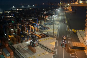 Global Container Terminal ,Jersey City, New Jersey, USA