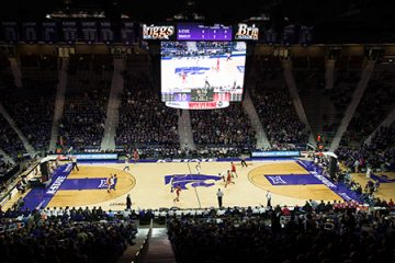 Kansas State University, Bramlage Colisenm, Manhattan, Kansas, USA