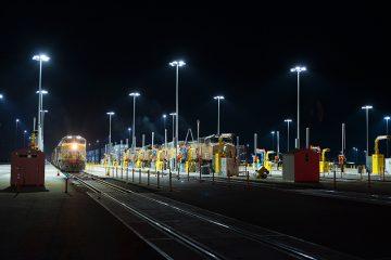 Santa Teresa Rail Yard ,Santa Teresa, New Mexico, USA